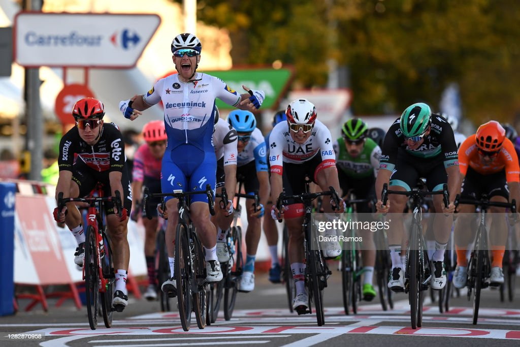 75th Tour of Spain 2020 - Stage Nine : News Photo