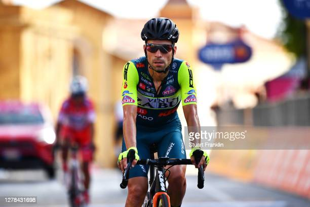 Arrival / Giovanni Visconti of Italy and Team Vini Zabu KTM / during the 103rd Giro d'Italia 2020, Stage 2 a 149km stage from Alcamo to Agrigento...