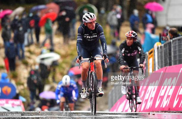 Arrival / Giulio Ciccone of Italy and Team Trek - Segafredo / during the 103rd Giro d'Italia 2020, Stage 9 a 207km stage from San Salvo to Roccaraso...