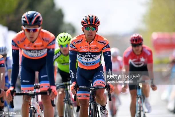 Arrival / Hayato Yoshida of Japan and Team Nippo Vini Fantini - Faizane / during the 55th Presidential Cycling Tour of Turkey 2019, Stage 1 a 156,7km...