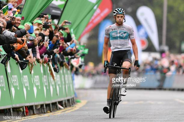 Arrival / Ian Stannard of Great Britain and Team Sky / Celebration / during the 15th Tour of Britain 2018 Stage 7 a 2156km stage from West Bridgford...