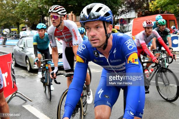 Arrival / Iljo Keisse of Belgium and Team Deceuninck - Quick-Step / during the 7th Brussels Cycling Classic 2019 a 189,4km stage from Brussel to...