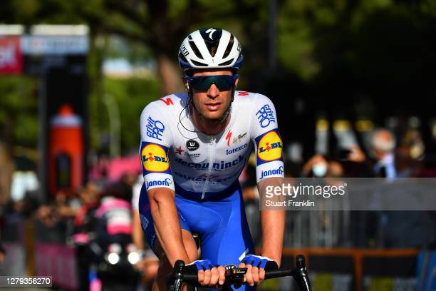 Arrival / Iljo Keisse of Belgium and Team Deceuninck - Quick-Step / during the 103rd Giro d'Italia 2020, Stage Seven a 143km stage from Matera to...