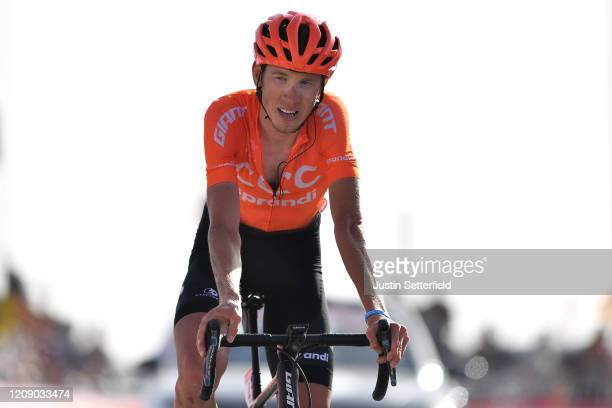 Arrival / Ilnur Zakarin of Russia and CCC Team / during the 6th UAE Tour 2020, Stage 5 a 162km stage from Al Ain to Jebel Hafeet 1033m / #UCIWT /...