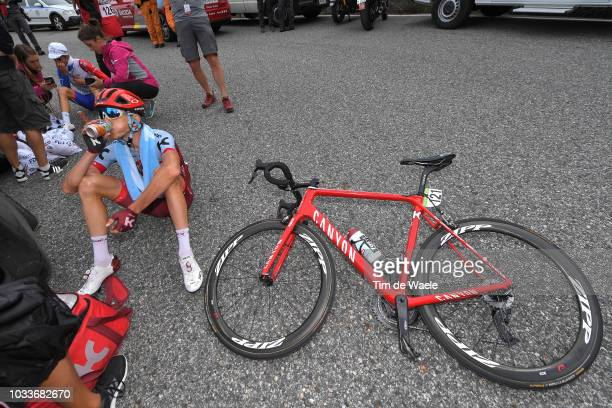 Arrival / Ilnur Zakarin of Russia and Team Katusha Alpecin / during the 73rd Tour of Spain 2018, Stage 20 a 97,3km stage from Escaldes-Engordany to...