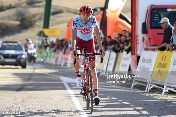 Arrival / Ilnur Zakarin of Russia and Team Katusha Alpecin / during the 99th Volta Ciclista a Catalunya 2019 Stage 4 a 1503km stage from Llanars Vall...