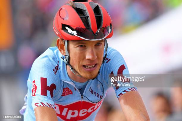 Arrival / Ilnur Zakarin of Russia and Team Katusha Alpecin / during the 102nd Giro d'Italia 2019, Stage 17 a 181km stage from Commezzadura to...