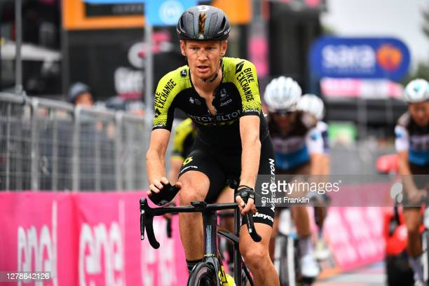 Arrival / Jack Haig of Australia and Team Mitchelton - Scott / Etna / during the 103rd Giro d'Italia 2020, Stage Three a 150km stage from Enna to...