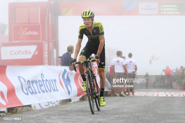 Arrival / Jack Haig of Australia and Team Mitchelton-Scott / during the 73rd Tour of Spain 2018, Stage 17 a 157km stage from Getxo to Alto del Balcon...