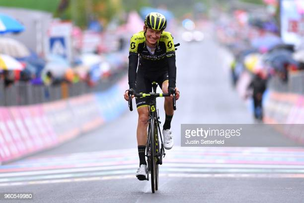 Arrival / Jack Haig of Australia and Team MitcheltonScott / during the 101st Tour of Italy 2018 Stage 15 a 176km stage from Tolmezzo to Sappada 1240m...