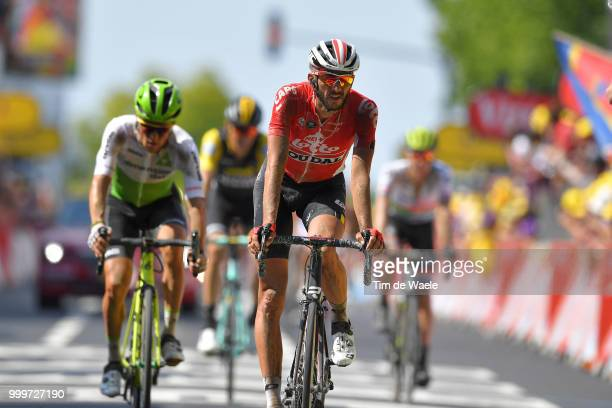 Arrival / Jelle Vanendert of Belgium and Team Lotto Soudal / during the 105th Tour de France 2018 Stage 9 a 1565 stage from Arras Citadelle to...