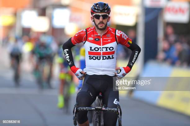 Arrival / Jelle Vanendert of Belgium / during the 16th Handzame Classic 2018 a 1991km from Bredene to Handzame on March 16 2018 in Kortemark Belgium