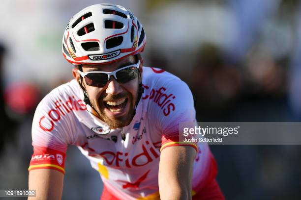 Arrival / Jesús Herrada of Spain and Team Cofidis, Solutions Crédits / Celebration / during the 28th Mallorca Challenge 2019 - Trofeo Campos, a...