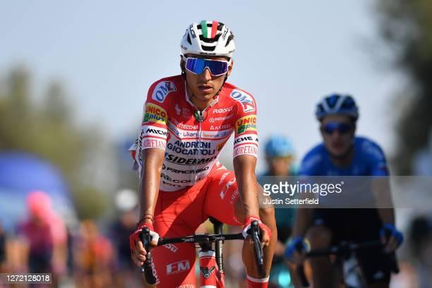 Arrival / Jhonatan Restrepo Valencia of Colombia and Team Androni Giocattoli-Sidermec / during the 55th Tirreno-Adriatico 2020, Stage 6 a 171km stage...