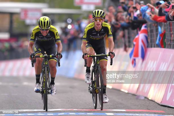 Arrival / Johan Esteban Chaves Rubio of Colombia and Team Mitchelton-Scott / Simon Yates of Great Britain and Team Mitchelton-Scott / during the...