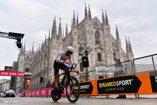 Arrival / Josef Cerny of Czech Republic and CCC Team / Duomo di Milano / Milan Cathedral / during the 103rd Giro d'Italia 2020, Stage 21 a 15,7km...