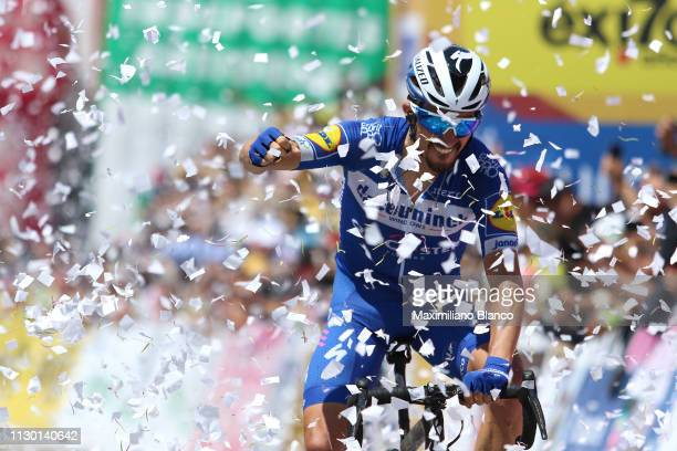 Arrival / Julian Alaphilippe of France and Deceuninck-Quickstep Team / Celebration / during the 2nd Tour of Colombia 2019, Stage 5 a 177,2km stage...