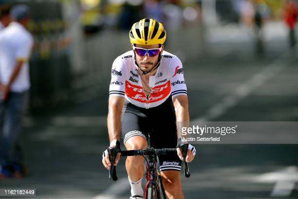 Arrival / Julien Bernard of France and Team Trek-Segafredo / during the 106th Tour de France 2019, Stage 10 a 217,5km stage from Saint-Flour to Albi...