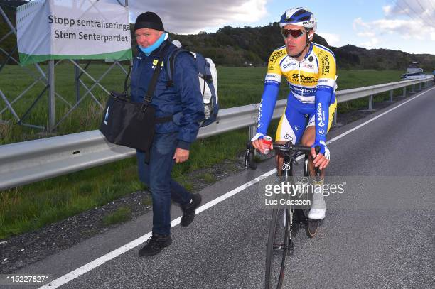 Arrival / Kenny De Ketele of Belgium and Team Sport VlaanderenBaloise / during the 9th Tour of Norway 2019 Stage 1 a 1682km stage from Stavanger to...