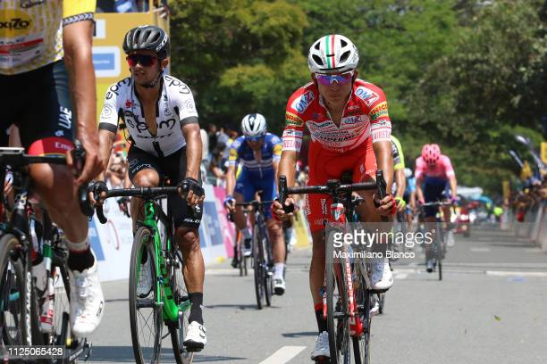 Arrival / Kevin Rivera of Costa Rica and Team Androni Giocattoli Sidermec / during the 2nd Tour of Colombia 2019 Stage 4 a 1444km race from Medellin...