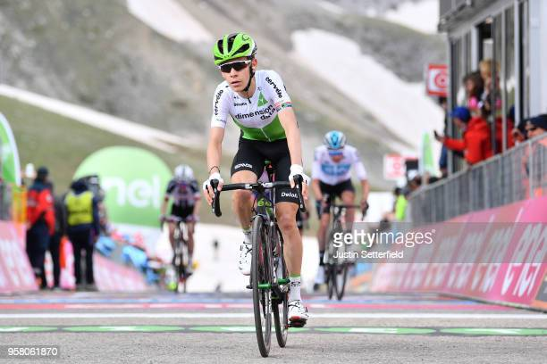 Arrival / Louis Meintjes of South Africa and Team Dimension Data / during the 101th Tour of Italy 2018, Stage 9 a 225km stage from Pesco Sannita to...