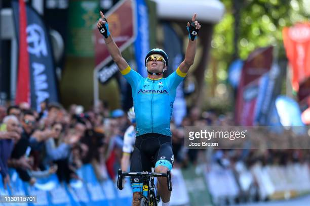 Arrival / Luis Leon Sanchez of Spain and Astana Pro Team / Celebration / during the 39th Vuelta a Murcia 2019, Stage 2 a 177,3km stage from Beniel to...