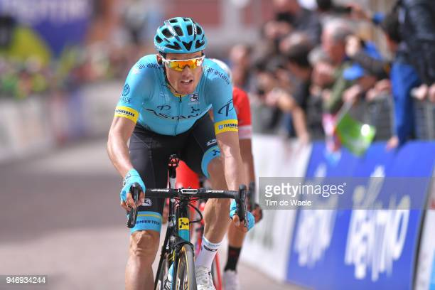 Arrival / Luis Leon Sanchez of Spain and Astana Pro Team / during the 42nd Tour of the Alps 2018 Stage 1 a 1346km stage from Arco to Folgaria 1160m...