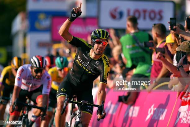 Arrival / Luka Mezgec of Slovenia and Team Mitchelton - Scott / Celebration / during the 76th Tour of Poland 2019, Stage 2 a 152,7km stage from...