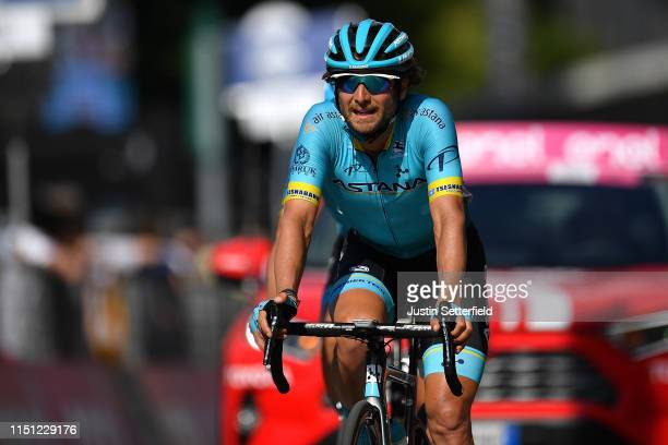 Arrival / Manuele Boaro of Italy and Astana Pro Team / during the 102nd Giro d'Italia 2019 Stage 12 a 158km stage from Cuneo to Pinerolo 376m / Tour...