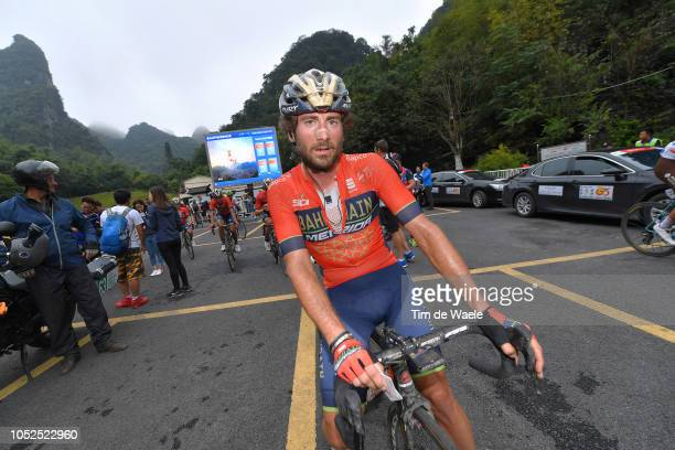 Arrival / Manuele Boaro of Italy and Team BahrainMerida / Soigneur / during the 2nd Tour of Guangxi 2018 Stage 4 a 1522km stage from Nanning to...