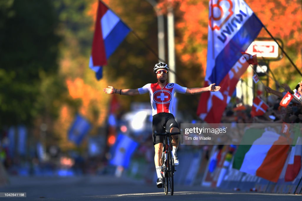 91st UCI Road World Championships 2018 - Road Race Men Under 23 : News Photo