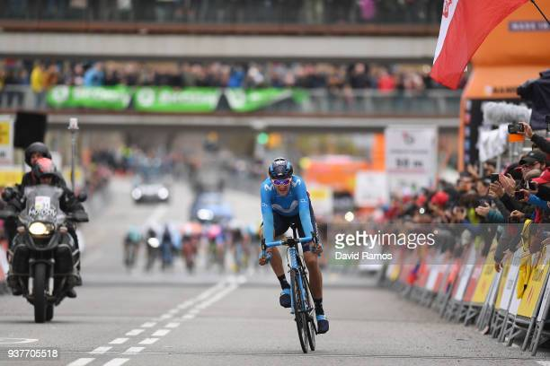 Arrival / Marc Soler of Spain and Team Movistar / during the 98th Volta Ciclista a Catalunya 2018, Stage 7 a 154,8km stage from Barcelona to...