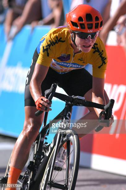 Arrival / Marianne Vos of The Netherlands and Team CCC - Liv Orange Leader Jersey / Celebration / during the 6th Ladies Tour of Norway 2019, Stage 4...