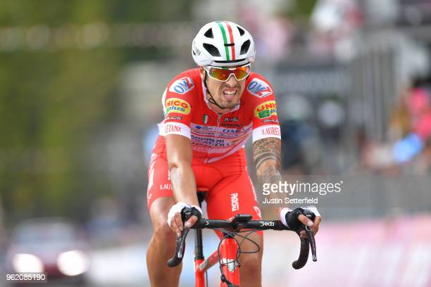 Arrival / Mattia Cattaneo of Italy and Team Androni Giocattoli-Sidermec / during the 101st Tour of Italy 2018, Stage 18 a 196km stage from...