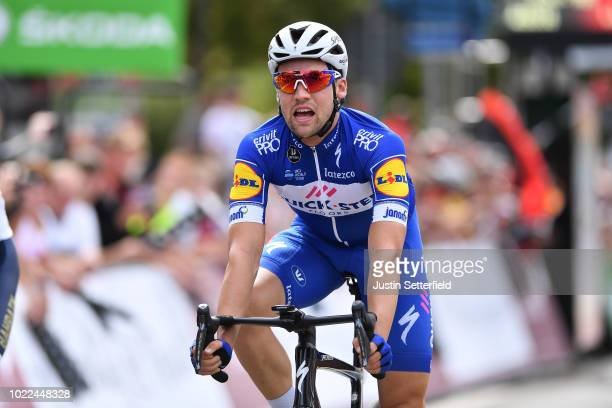 Arrival / Maximilian Schachmann of Germany and Team Quick-Step Floors / Celebration / during the 33rd Deutschland Tour 2018, Stage 2 a 196km stage...