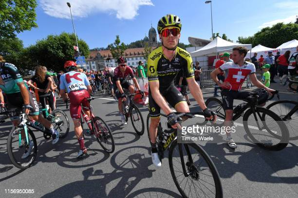 Arrival / Michael Hepburn of Australia and Team Mitchelton Scott / during the 83rd Tour of Switzerland Stage 5 a 177km stage from Münchenstein to...