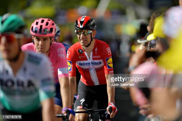 Arrival / Michael Morkov of Denmark and Team Deceuninck - Quick-Step / during the 106th Tour de France 2019, Stage 10 a 217,5km stage from...