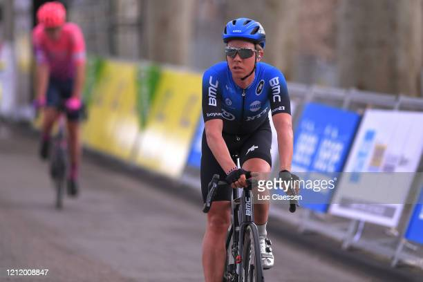 Arrival / Michael Valgren Andersen of Denmark and NTT Pro Cycling Team / during the 78th Paris - Nice 2020, Stage 5 a 227 km stage from Gannat to La...