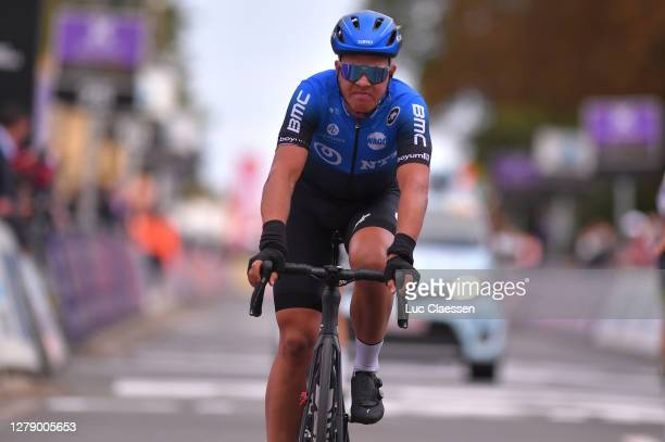Arrival / Michael Valgren Andersen of Denmark and NTT Pro Cycling Team / during the 60th Brabantse Pijl 2020, Men Elite a 197km race from Leuven to...