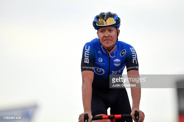 Arrival / Michael Valgren Andersen of Denmark and NTT Pro Cycling Team / during the 75th Tour of Spain 2020, Stage 12 a 109,4km stage from Pola de...