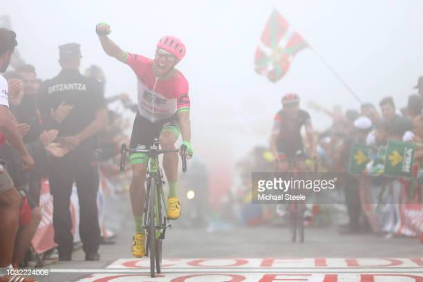 Arrival / Michael Woods of Canada and Team EF Education First - Drapac P/B Cannondale / Celebration / during the 73rd Tour of Spain 2018, Stage 17 a...