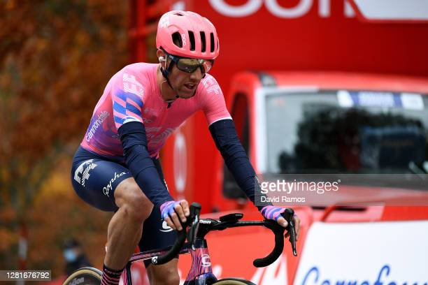 Arrival / Michael Woods of Canada and Team EF Pro Cycling / during the 75th Tour of Spain 2020, Stage 3 a 166,1km stage from Lodosa to La Laguna...
