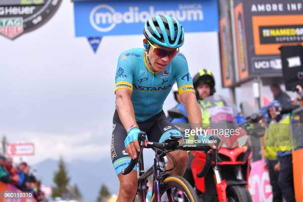 Arrival / Miguel Angel Lopez of Colombia and Astana Pro Team / during the 101st Tour of Italy 2018, Stage 14 a 186km stage from San Vito Al...