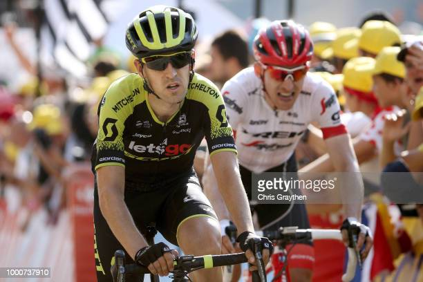 Arrival / Mikel Nieve of Spain and Team MitcheltonScott / during the 105th Tour de France 2018 / Stage 10 a 1585km stage from Annecy to Le...