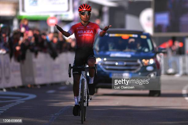 Arrival / Nairo Quintana of Colombia and Team Arkéa Samsic / Celebration / during the 5th Tour de La Provence 2020, Stage 3 a 143,5km stage from...