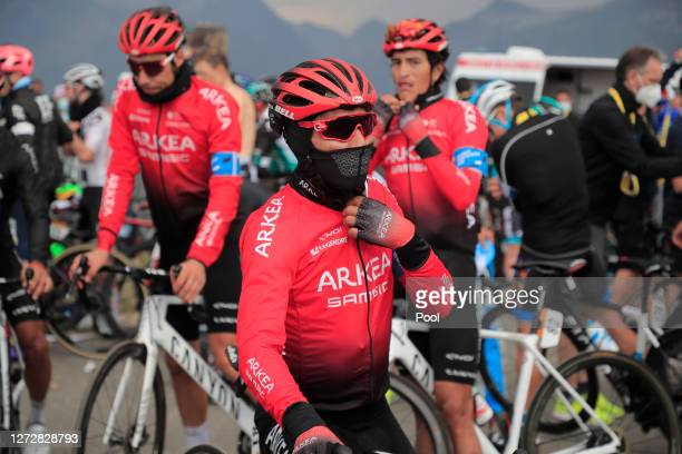 Arrival / Nairo Quintana Rojas of Colombia and Team Arkea - Samsic / during the 107th Tour de France 2020, Stage 17 a 170km stage from Grenoble to...