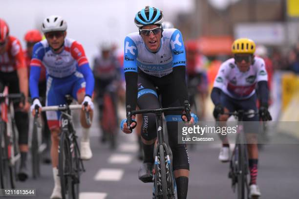 Arrival / Nils Politt of Germany and Team Israel Start-Up Nation / during the 78th Paris - Nice 2020, Stage 3 a 212,5km stage from Chalette-sur-Loing...