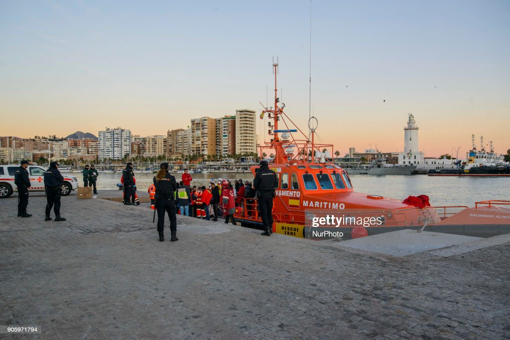 Maghrebi persons rescued in the Mediterranean sea