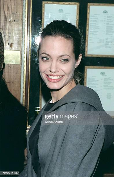 Arrival of Angelina Jolie