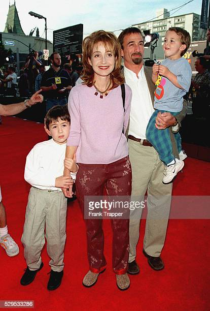 Arrival of Annie Potts with her husband James Hayman and sons Harry and Doc